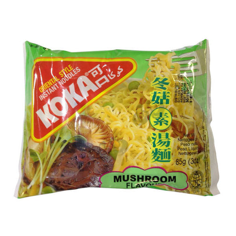 Koka Mushroom Flavour Noodles 85 gm - Sabadda - Indian Online Grocery Store in UK