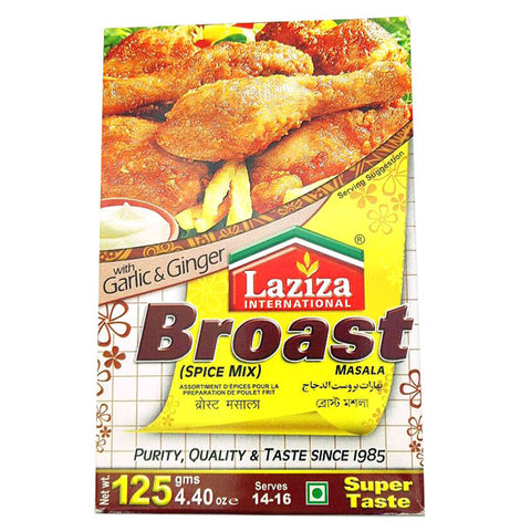 Laziza Broast Masala 125 gm - Sabadda - Indian Online Grocery Store in UK