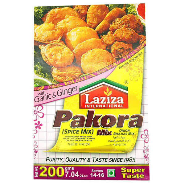 Laziza Pakora Mix 200 gm - Sabadda - Indian Online Grocery Store in UK