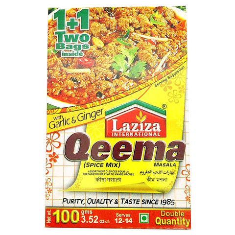 Laziza Qeema Masala 100 gm - Sabadda - Indian Online Grocery Store in UK