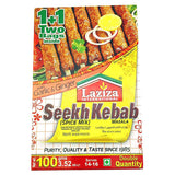 Laziza Seekh Kebab Masala 100 gm - Sabadda - Indian Online Grocery Store in UK