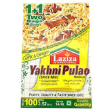 Laziza Yakhni Pulao Masala 100 gm - Sabadda - Indian Online Grocery Store in UK