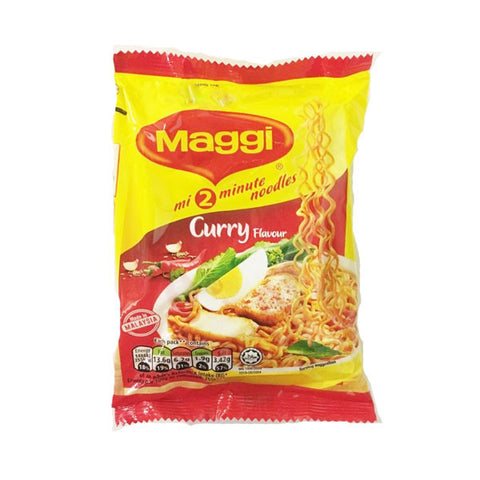 Maggi 2 Minute Noodles Curry Flavour 80 gm - SabAdda - Asian Grocery Store