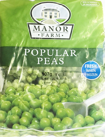 Manor Farm Popular Peas 907 gm - SabAdda - Asian Grocery Store