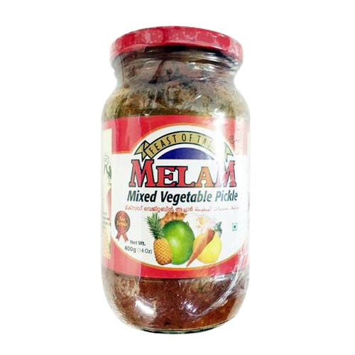 Melam Mixed Vegetable Pickle 400 gm - Sabadda - Indian Online Grocery Store in UK