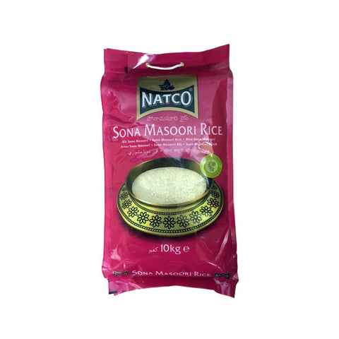 Natco Sona Masoori Rice 10 kg - Sabadda - Indian Online Grocery Store in UK