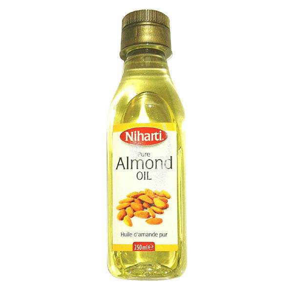 Niharti Pure Almond Oil 250 ml - Sabadda - Indian Online Grocery Store in UK