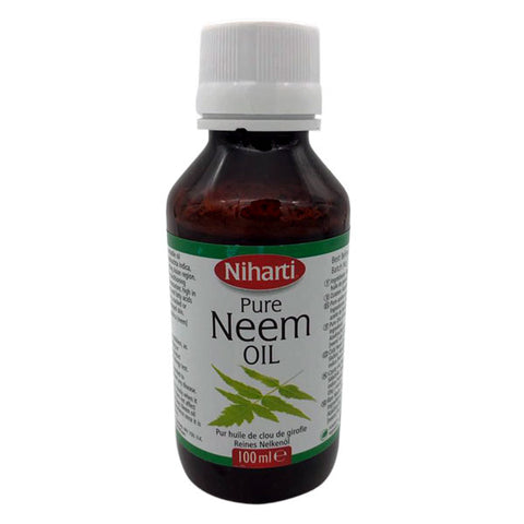 Niharti Pure Neem Oil 100 ml - Sabadda - Indian Online Grocery Store in UK
