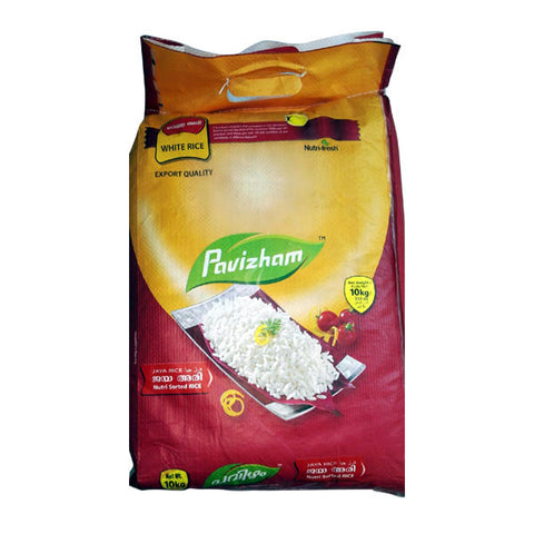 Pavizham Jaya Rice Nutri Sorted Rice 10 kg - Sabadda - Indian Online Grocery Store in UK