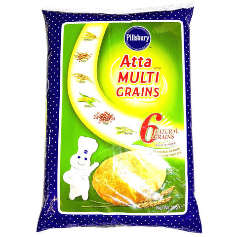 Pillsbury Atta with Multi Grains 5 kg - Sabadda - Indian Online Grocery Store in UK