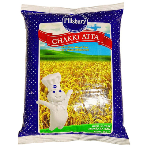 Pillsbury Chakki Atta 2 kg - Sabadda - Indian Online Grocery Store in UK