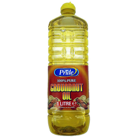 Pride 100% Pure Groundnut Oil 1 Litre - Sabadda - Indian Online Grocery Store in UK