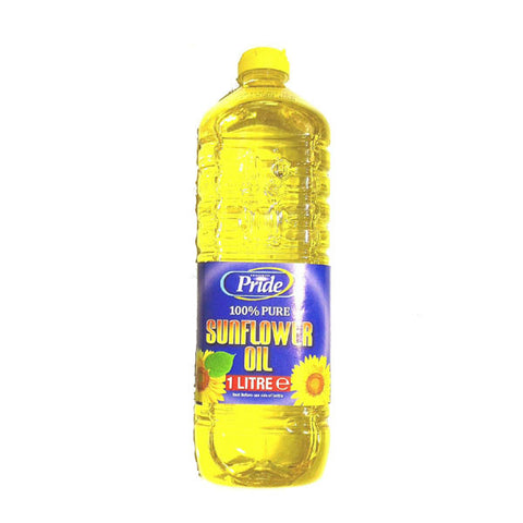 Pride Sunflower Oil (Bottle) 1 Ltr - Sabadda - Indian Online Grocery Store in UK