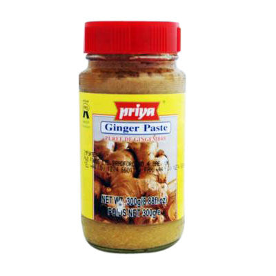 Priya Ginger Paste 300 gm - Sabadda - Indian Online Grocery Store in UK
