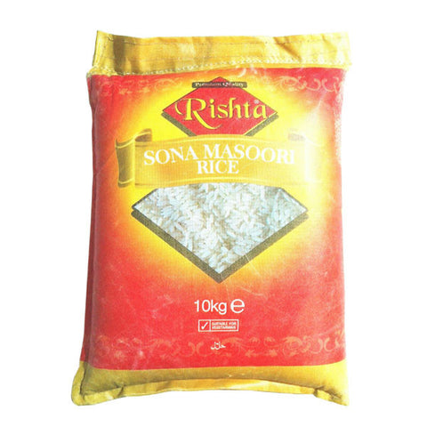 Rishta Sona Masoori Rice 10 kg - Sabadda - Indian Online Grocery Store in UK