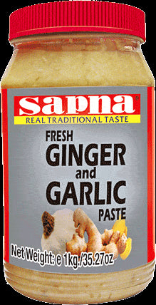 Sapna Glnger/Garllc Paste 1kg - SabAdda - Asian Grocery Store
