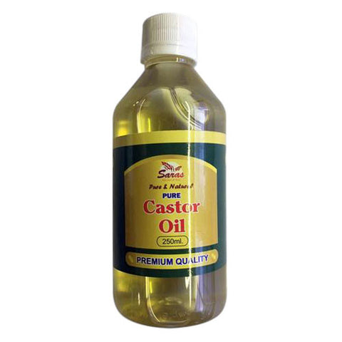 Saras Pure Castor Oil 250 ml - Sabadda - Indian Online Grocery Store in UK