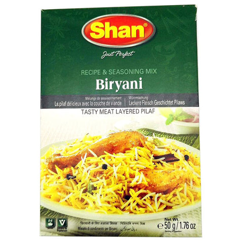 Shan Biryani Seasoning Mix 50 gm - Sabadda - Indian Online Grocery Store in UK