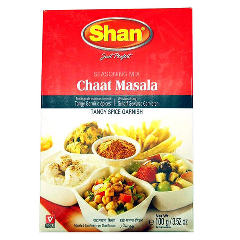 Shan Chaat Masala Seasoning Mix 100 gm - Sabadda - Indian Online Grocery Store in UK