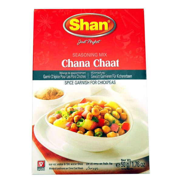 Shan Chana Chaat Seasoning Mix 50 gm - Sabadda - Indian Online Grocery Store in UK