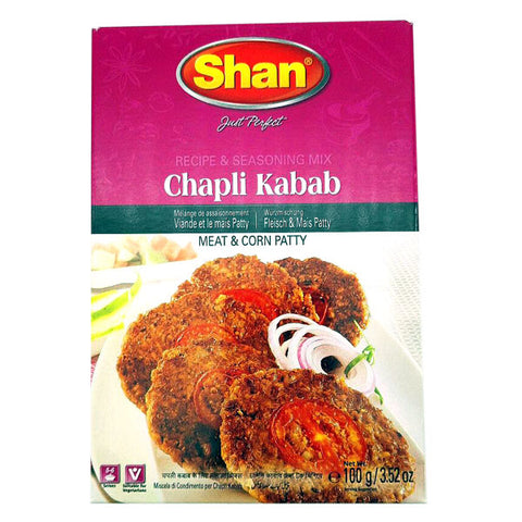 Shan Chapli Kabab Seasoning Mix 100 gm - Sabadda - Indian Online Grocery Store in UK