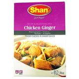 Shan Chicken Ginger Seasoning Mix 50 gm - Sabadda - Indian Online Grocery Store in UK