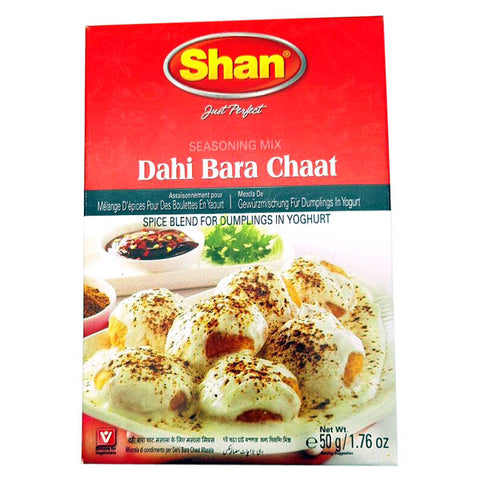Shan Dahi Bara Chaat Seasoning Mix 50 gm - Sabadda - Indian Online Grocery Store in UK