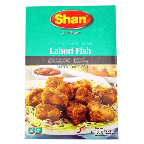 Shan Lahori Fish Seasoning Mix 100 gm - Sabadda - Indian Online Grocery Store in UK