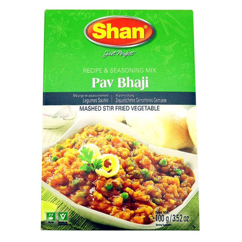 Shan Pav Bhaji Seasoning Mix 100 gm - Sabadda - Indian Online Grocery Store in UK