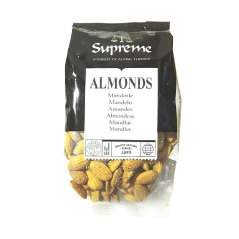 Supreme Almonds 300 gm - Sabadda - Indian Online Grocery Store in UK