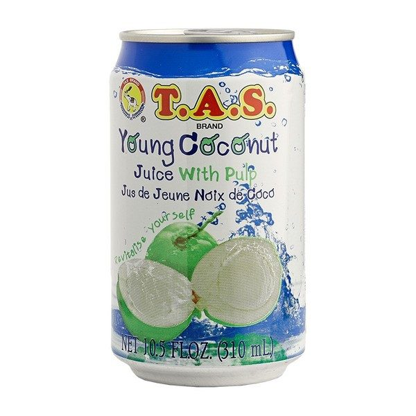 TAS Young Coconut Juice With Pulp 310 ml - SabAdda - Asian Grocery Store