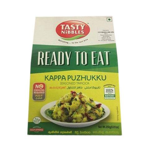 Tasty Nibbles Ready to Eat Kappa Puzhukku 250 gm - Sabadda - Indian Online Grocery Store in UK