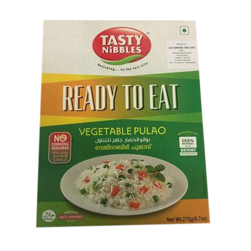 Tasty Nibbles Ready to Eat Vegetable Pulao 275 gm - Sabadda - Indian Online Grocery Store in UK