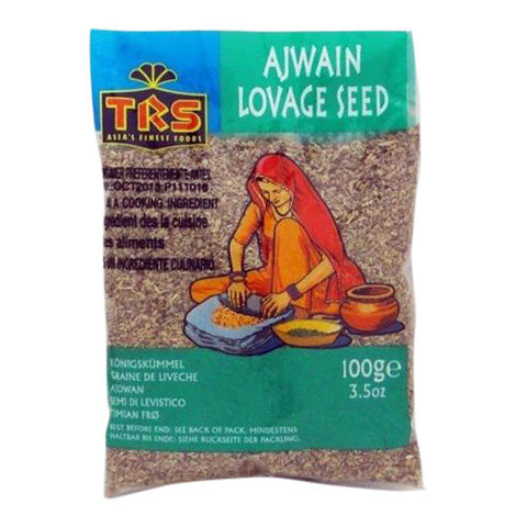 TRS Ajwain Lovage Seed 100 gm - Sabadda - Indian Online Grocery Store in UK