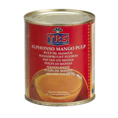 TRS Alphonso Mango Pulp 850 gm - Sabadda - Indian Online Grocery Store in UK