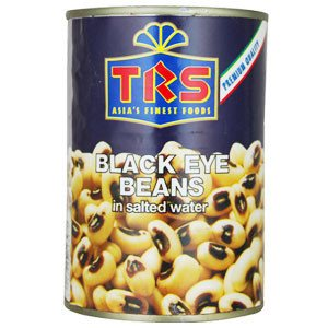 TRS Canned Boiled Blackeye Beans 400 gm - SabAdda - Asian Grocery Store