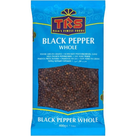 TRS Black Pepper Whole 400 gm - SabAdda - Asian Grocery Store