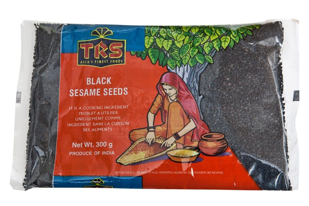 TRS Sesame Seeds Black 300 gm - SabAdda - Asian Grocery Store