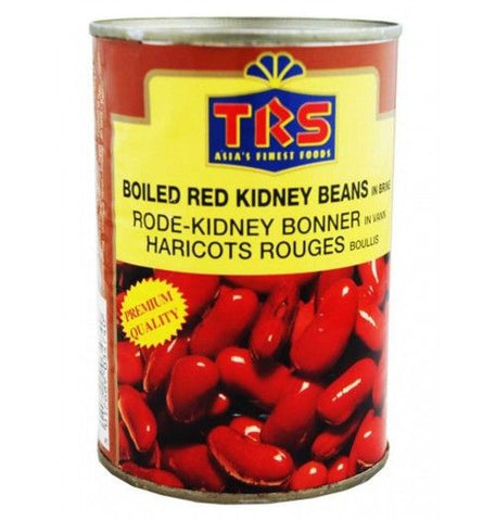 TRS Boiled Red Kidney Beans in Brine 400 gm - Sabadda - Indian Online Grocery Store in UK