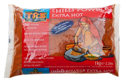 TRS Chilli Powder Extra Hot 1 kg - SabAdda - Asian Grocery Store