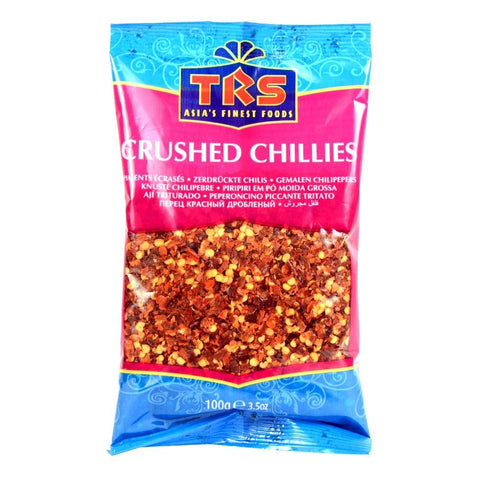 TRS Chillies Crushed 100 gm - SabAdda - Asian Grocery Store