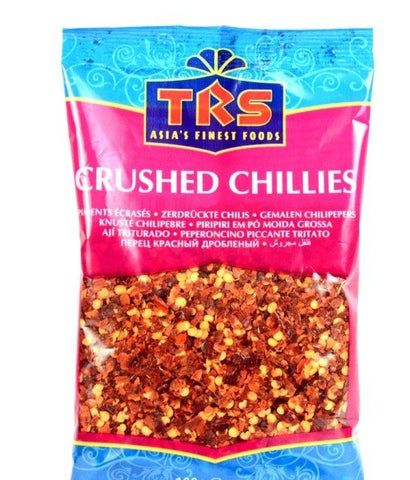 TRS Chillies Crushed 250 gm - SabAdda - Asian Grocery Store