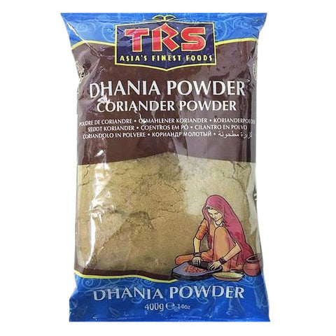 TRS Dhania Powder Coriander Powder 400 gm - Sabadda - Indian Online Grocery Store in UK