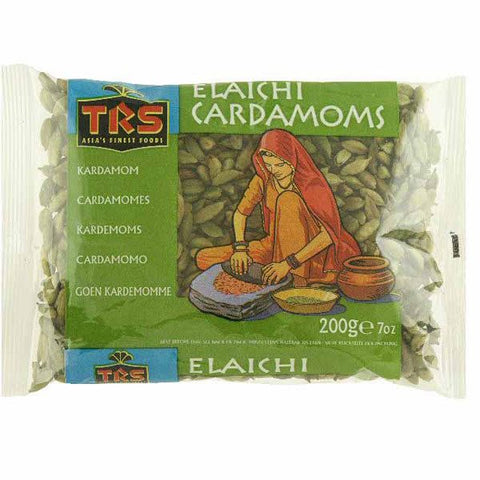 TRS Elaichi Cardamoms (Green) 200 gm - Sabadda - Indian Online Grocery Store in UK