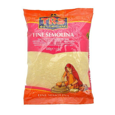 TRS Semolina Fine 500 gm - SabAdda - Asian Grocery Store