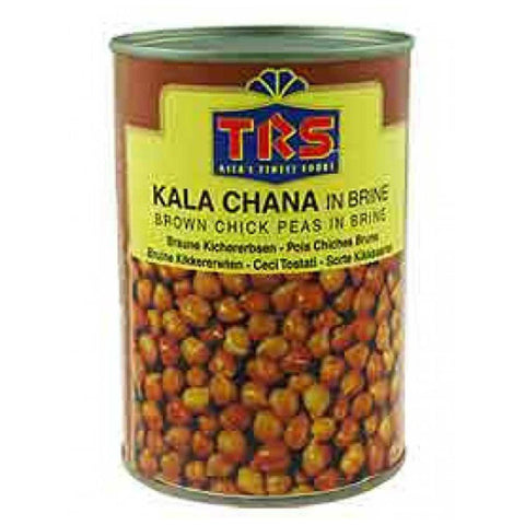 TRS Canned Boiled Kala Chana 400 gm - SabAdda - Asian Grocery Store