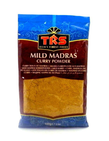 TRS Madras Curry Powder Mild 100 gm - Sabadda - Indian Online Grocery Store in UK