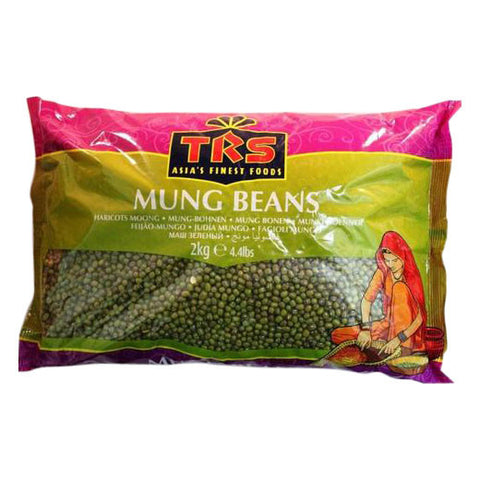 TRS Mung Beans 2 kg - Sabadda - Indian Online Grocery Store in UK