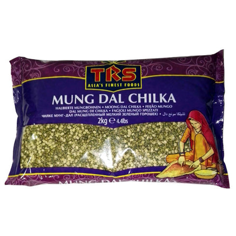 TRS Mung Dal Chilka 2 kg - Sabadda - Indian Online Grocery Store in UK
