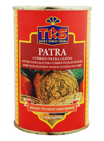 TRS Canned Patra (Curried) 400 gm - Sabadda - Indian Online Grocery Store in UK
